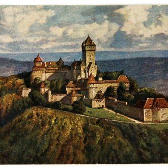 Открытка  В. Кенигсбург 1921 г. W. Burger Германия