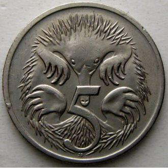 Австралия 5 центов 1999 год