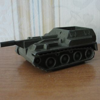 Военная техника СССР, самоходка, СУ-76 металл