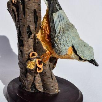 Скульптура,Птица! Композиция Vogelwelt Collection!