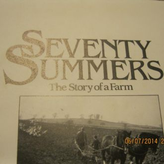 на английском языке книга SEVENTY SUMMERS селхоз
