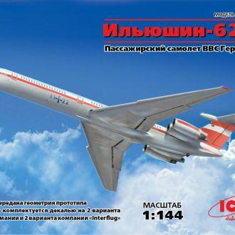 ICM - 14406 - Ильюшин Ил-62М Interflug - 1:144