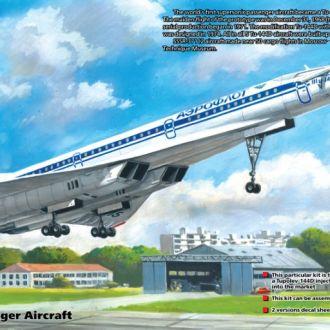 ICM - 14402 - Туполев Ту-144Д - 1:144