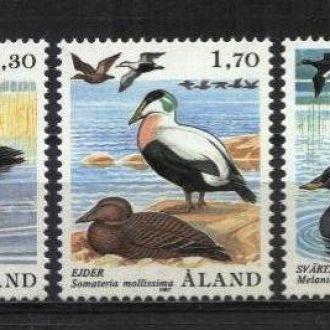 Финляндия Аландские о-ва Фауна 1987 MNH