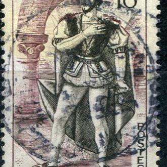 Франция  Хернани - герой  Виктора Гюго гаш