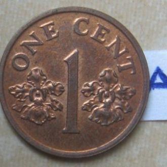 1 цент 1993 года. СИНГАПУР.