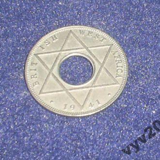 Брит. Западная Африка-1941 г.-1/10 пенни (Георг-6)
