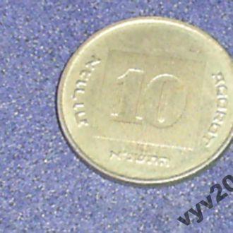 Израиль-1991 г.-10 агор