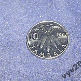 Малави-1995 г.-10 тамбала (маис)
