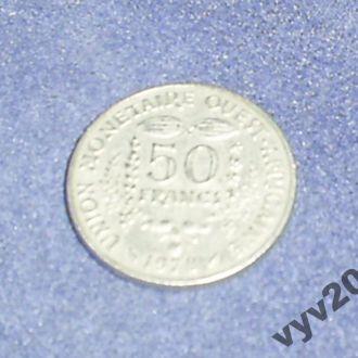 Запад.-Афр. Штаты-1978 г.-50 франков
