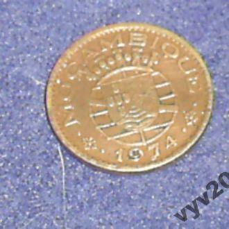 Порт. Мозамбик-1974 г.-50 сентаво