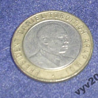 Кения-1994 г.-10 шиллингов