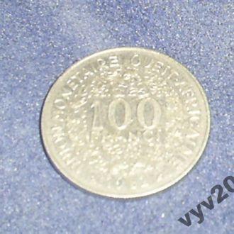 Запад.-Афр. Штаты-1982 г.-100 франков