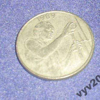 Запад.-Афр. Штаты-1989 г.-25 франков