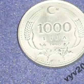 Турция-1990 г.-1000 лир