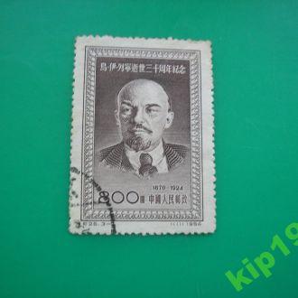 Китай 1954 Ленин