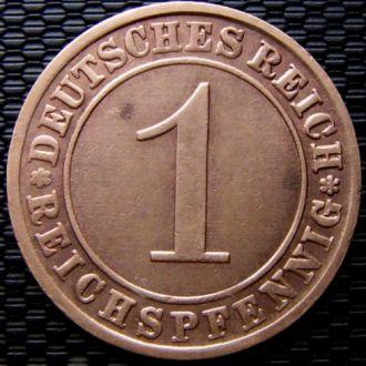Германия 1 рейхспфенниг 1931 год (A)