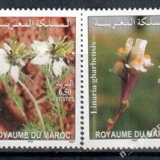 Марокко 2004 Флора Цветы MNH