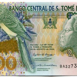 Сан Томе и Принсипи 10000 добрас 2004 UNC ПРЕСС