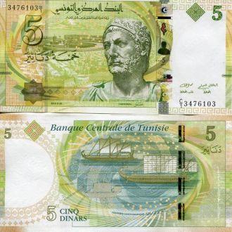 Тунис 5 динар 2013 АНЦ пресс