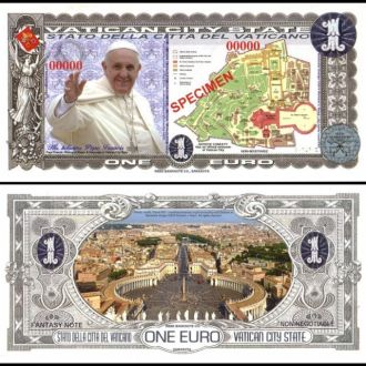VATICAN / Ватикан - 1 EURO 2014 - UNC - полимер