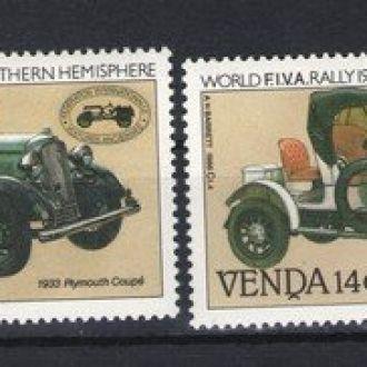 Венда - машины 1986 - Michel Nr. 146-149 **