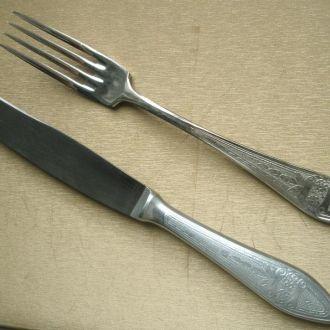 Набор вилки+ножи (5шт.+5шт.) 1953 год