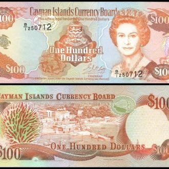 Cayman I-s Каймановы о-в - 100 Dollar 1996 UNC OLM