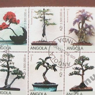 Ангола 2000 Флора бонсай