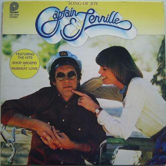 CAPTAIN & TENNILLE  Song Of Joy  LP VG++/EX(+)