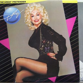 DOLLY PARTON  The Great Pretender  LP  EX+