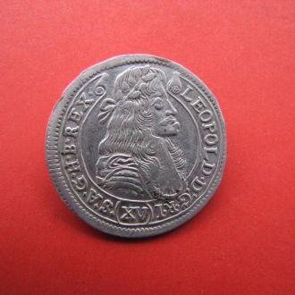 15 Крейцеров 1679,(40) Австрия для Венгрии