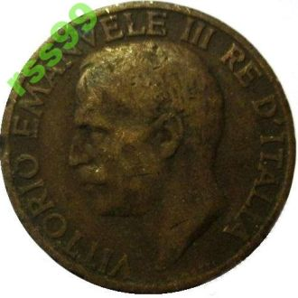 Италия 10 чентезимо 1926