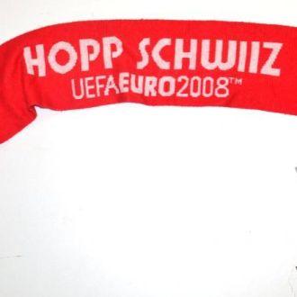Шарф HOPP SCHWIIZ, UEFA 2008, Акрил
