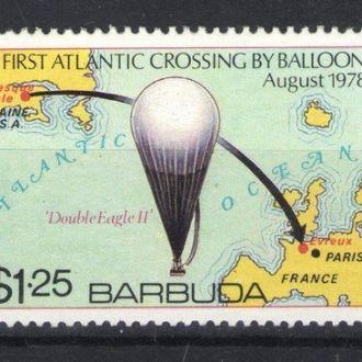 Барбуда - воздушный шар 1978 - Michel Nr. 432 **