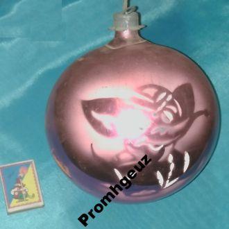 Новогодняя елочная игрушка Огромный Шар Слоник (2)