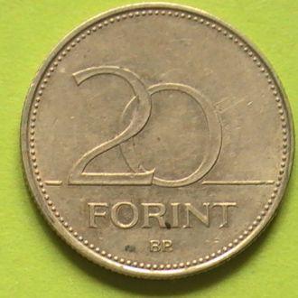 20 Форинт 1993 г Венгрия 20 Форінт 1993 р Угорщина