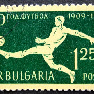 Болгария 1959 Спорт Футбол Фрагмент серии
