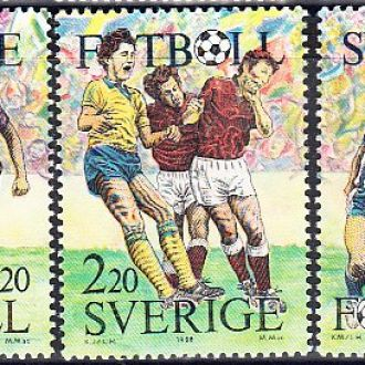 Швеция 1988 футбол спорт
