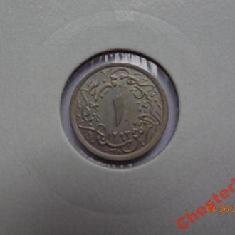 Египет 1/10 гирш AH1293/32 (1906)H отличное состояние очень редкая
