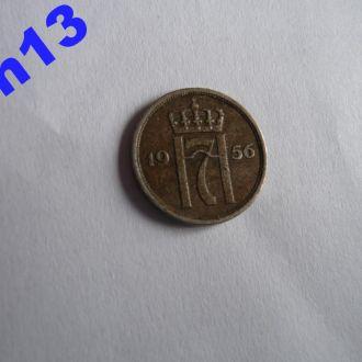 10 оре 1956 Норвегия Сохран