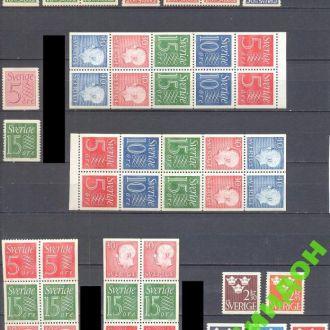 Швеция 1948 - 1967 стандарт король люди 1 **