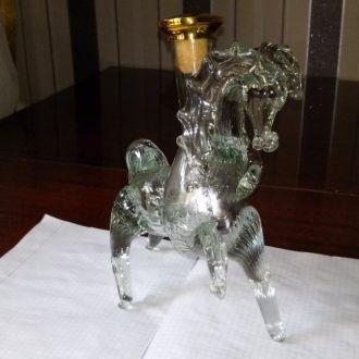 Бутылка Лошадь стекло