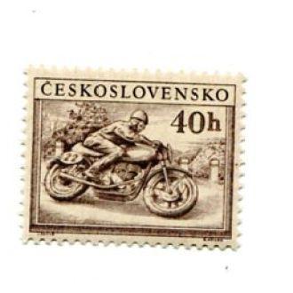 ЧЕХОСЛОВАКИЯ  1953 СПОРТ МОТОЦИКЛ ВОЛЕЙБОЛ
