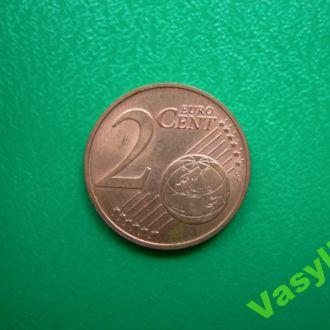 Австрия 2 евро цента 2010 г. UNC!