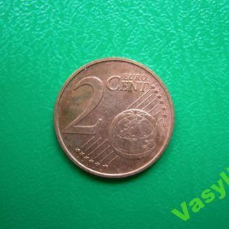 Австрия 2 евро цента 2007 г. Сохран!!!