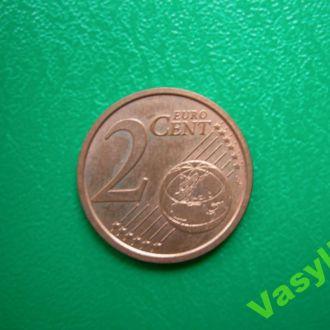 Италия 2 евро цента 2010 г. UNC!