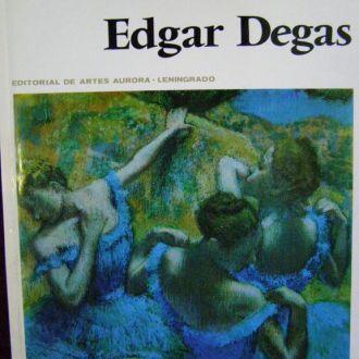 Edgar Degas. Эдгар Дега. Художественный альбом.