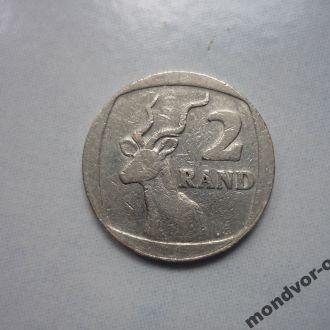 ЮАР 2 рэнда 1989 фауна