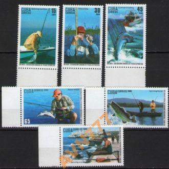 Куба 2009 Рыбы рыбалка серия **